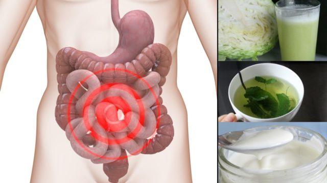 У людей наблюдаются симптомы, указывающие на дисфункцию кишечника и постоянное присутствие токсических веществ